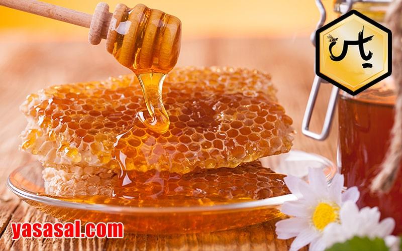 خرید عسل خوب با موم