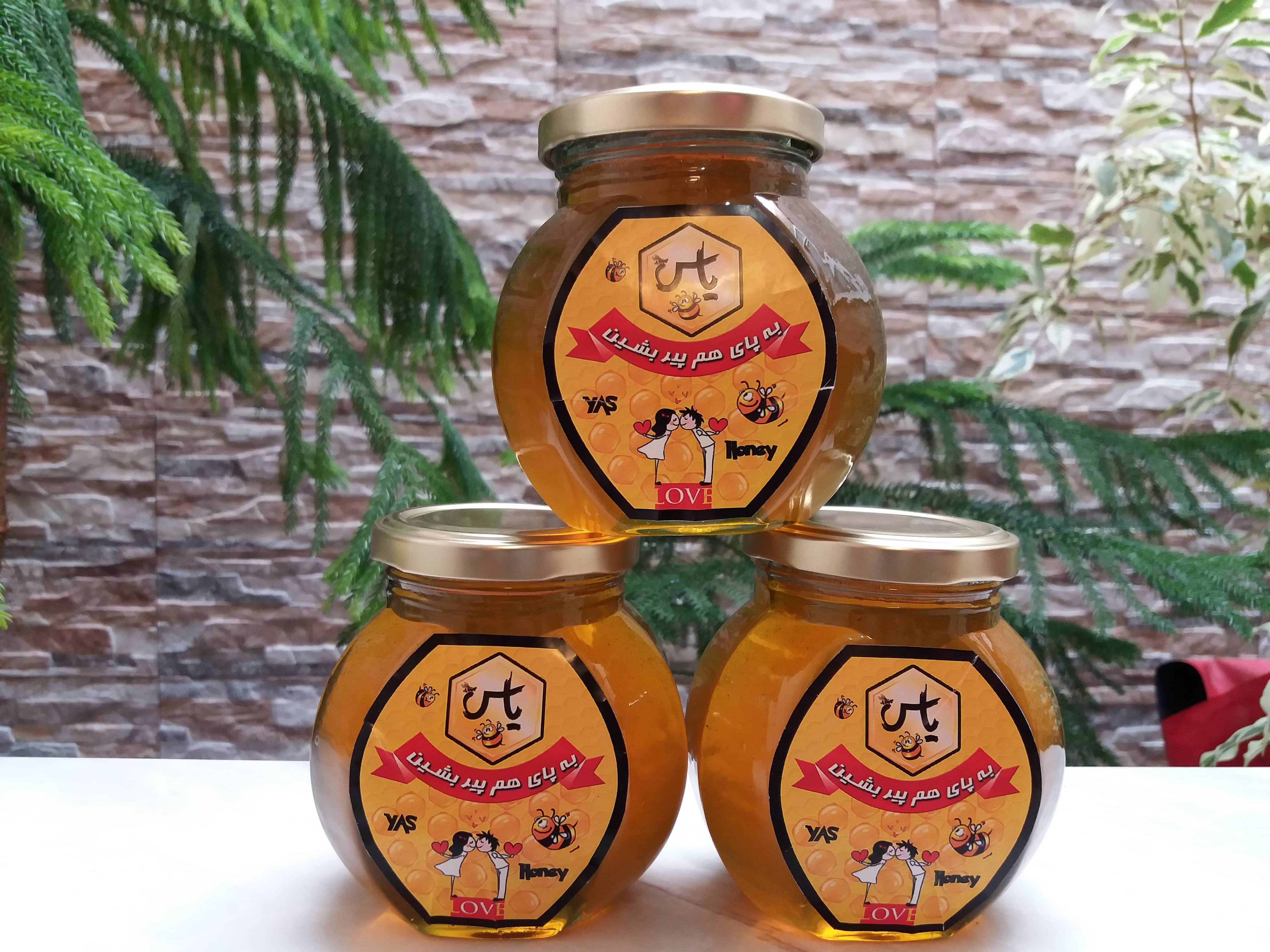ظرف بسته بندی عسل